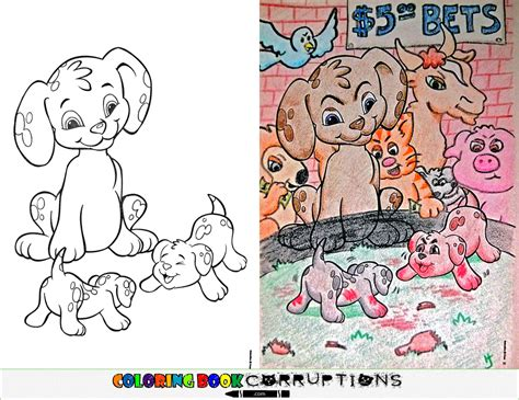 16 Brilliantly Corrupted Colouring Books That Will Ruin