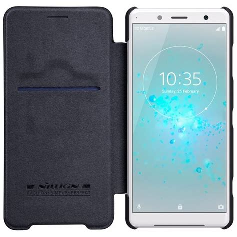 Nillkin QIN leather Case For Sony Xperia XZ2 Compact Card
