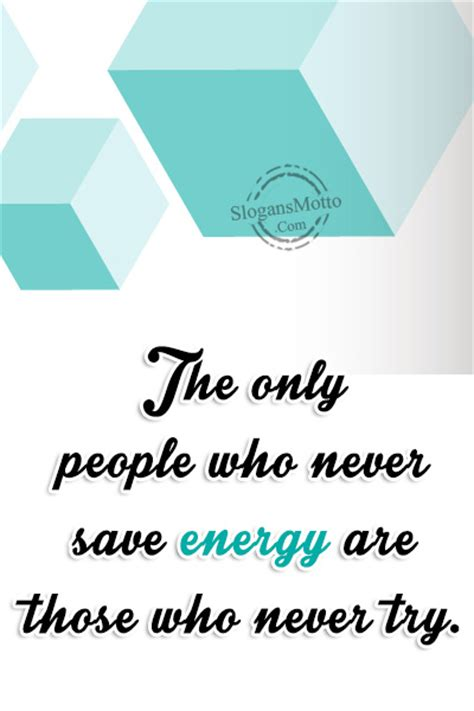Energy Conservation Slogans - Page 2