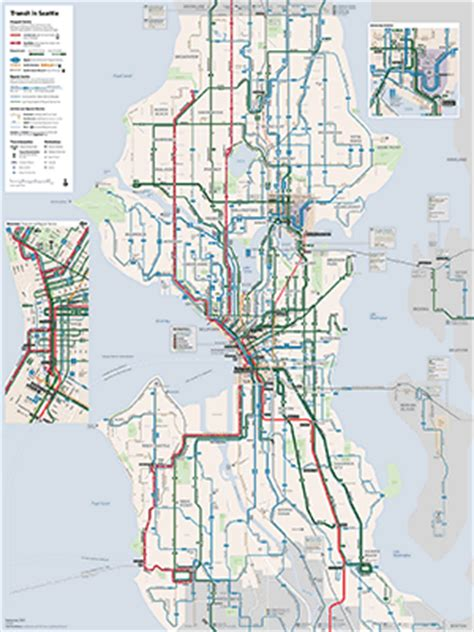 The Seattle Transit Map and Guide – Seattle Transit Blog