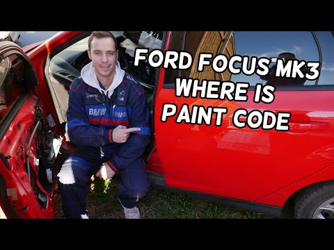 1970's Ford paint charts