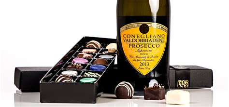 Christmas Prosecco and Chocolates Gift Box – Holly