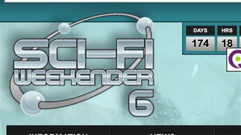 6 tickets to the sci-Fi weekender £534 | Day, Sci fi, Weekend