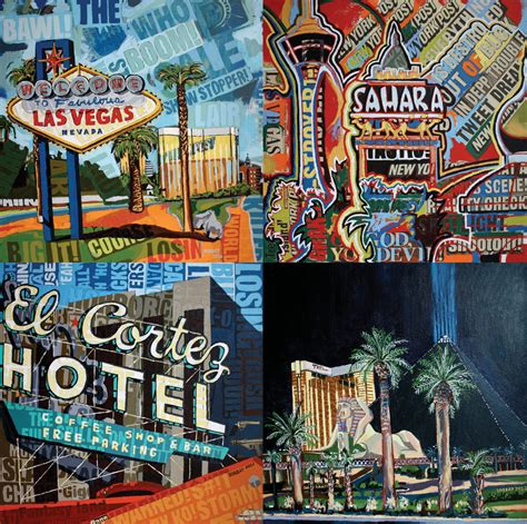Free and Loving in Las Vegas, A Painting Adventure – BORBAY