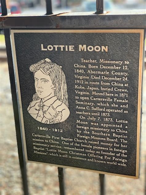 Cartersville, Georgia and Lottie Moon - There Goes Connie