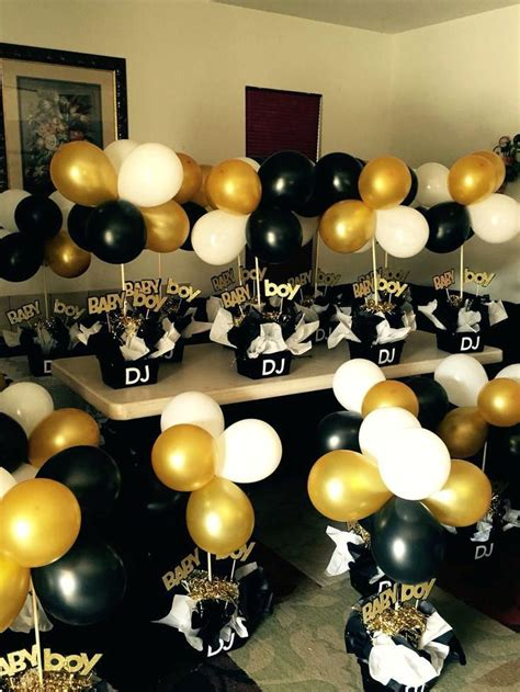 45 Graduation Party Ideas Black And Gold Bridal Shower