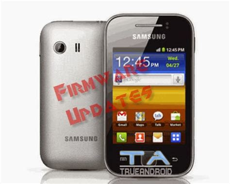 Stock Rom Odin Flashable Firmware For Galaxy Y GT-S5360