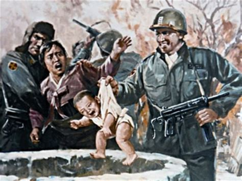 Check Out These Twisted North Korean Propaganda Posters