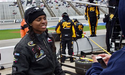 How Brehanna Daniels Is Changing NASCAR, One Tire At A Time