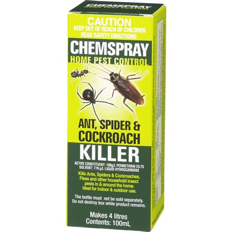 Amgrow 100ml Chemspray Ant Spider And Cockroach Killer